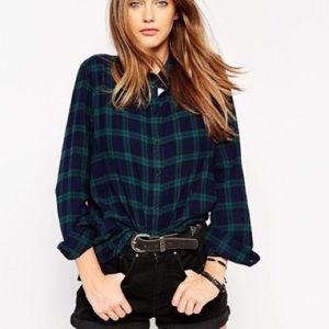 • j.crew // the perfect plaid shirt •